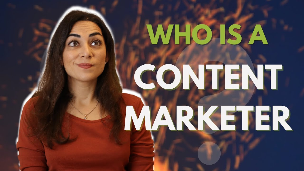 What Does a CONTENT MARKETING MANAGER Do? - Elif Hiz