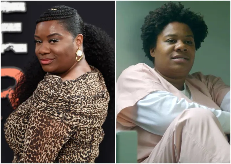 Adrienne C. Moore - Cindy Hayes soprannominata ''Black Cindy''  Orange is the new Black protagoniste