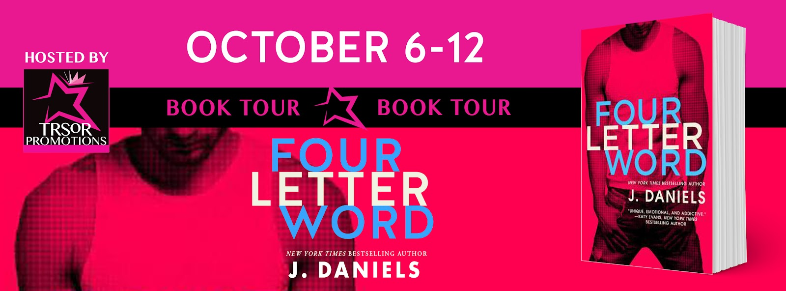 Book Tour Four Letter Word By J Daniels