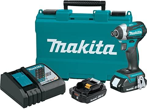Makita XDT14R 18V LXT Lithium-Ion Compact Brushless Cordless Quick-Shift Mode 3-Speed Impact Driver Kit (2.0Ah)
