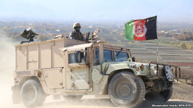 Операция сил безопасности Афганистана в провинции Нангархар, декабрь 2017 года