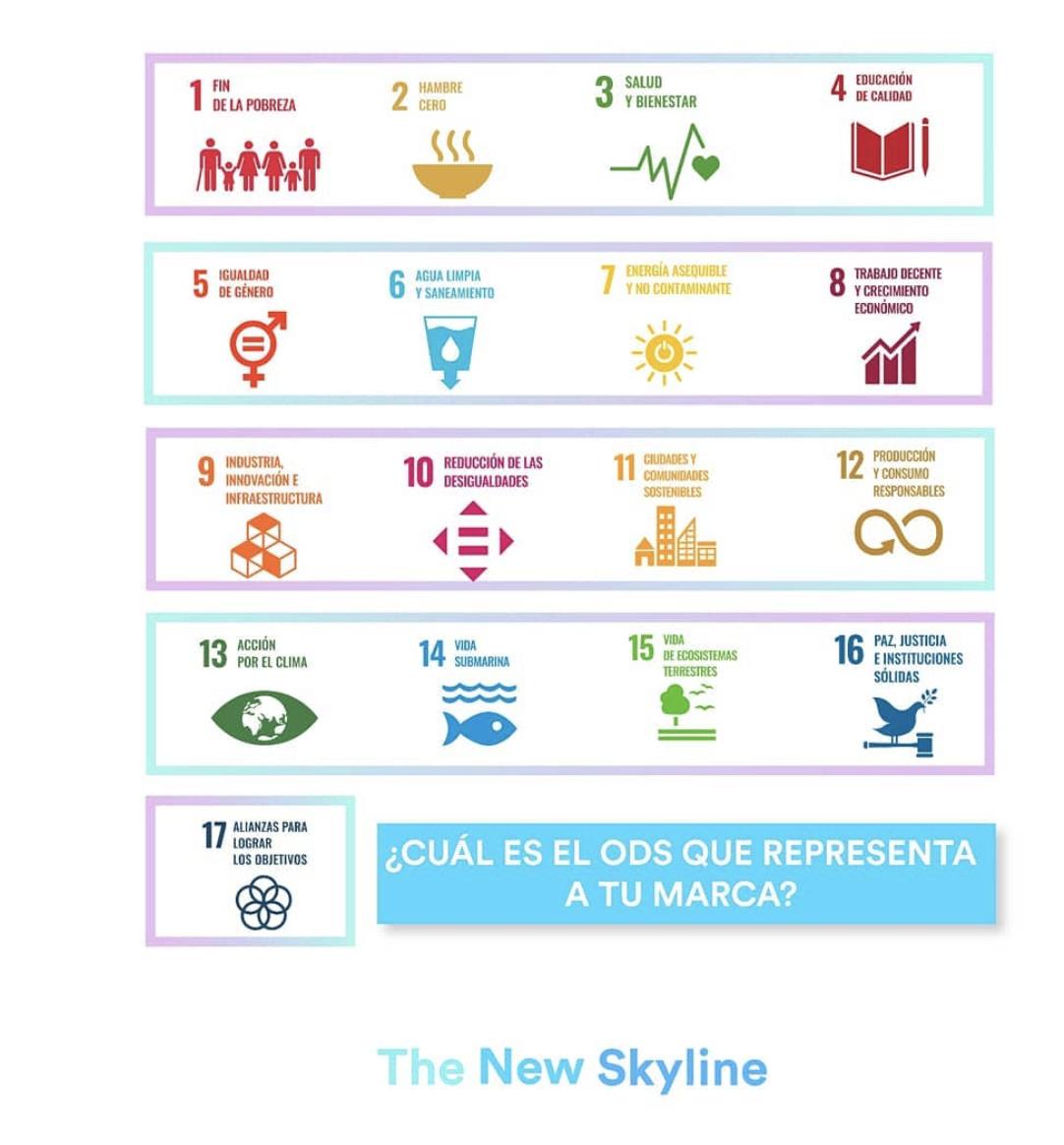 ¿Cúal es el ODS que representa a tu marca?