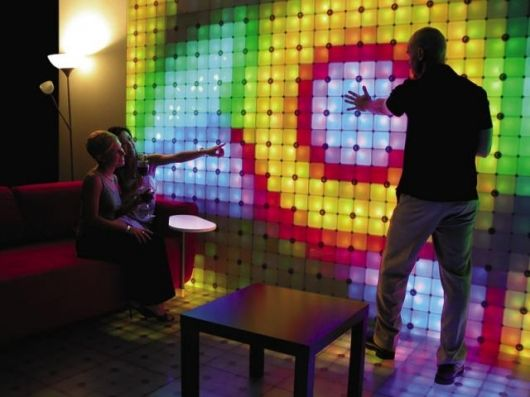 Digital signage can be entertaining. Source: Architonic. Retail Digital Signage - Rev Interactive