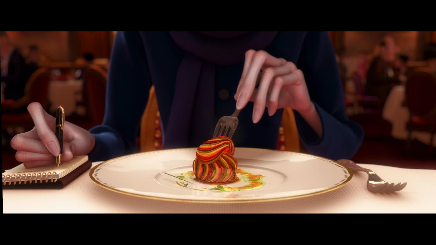 Еда, срисованная с реального блюда