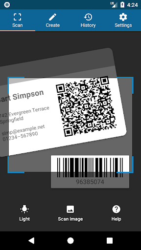 QRbot: QR code reader and barcode reader- screenshot thumbnail