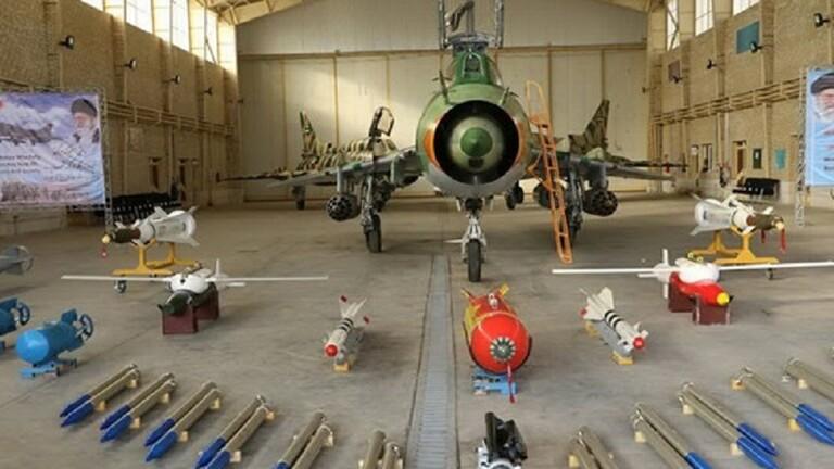 ایران موشک های هوایی را به جنگنده های سپاه پاسداران می دهد
