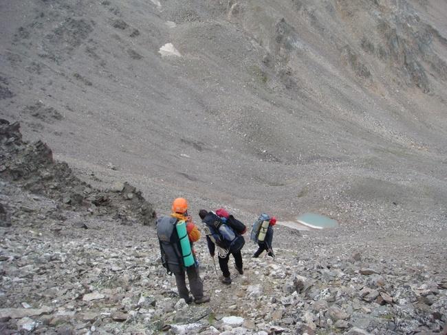 Отчет о горном спортивном походе 4 категории сложности по Центральному Кавказу