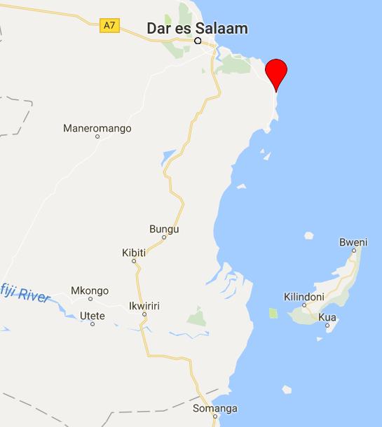 Tanzania debris2 map