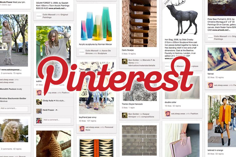 Pinterest - một trong số những trang đáng để lựa chọn