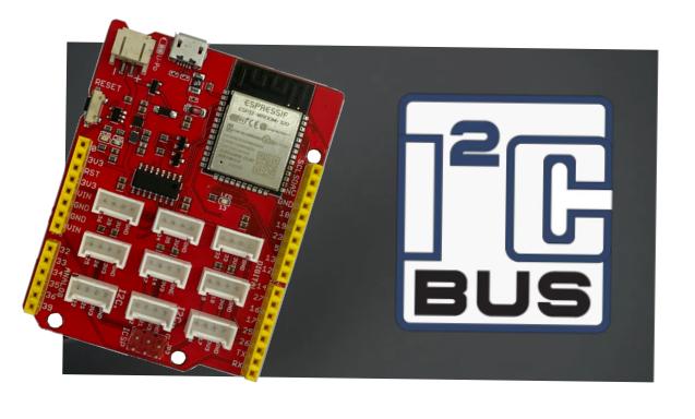 Board Node Wifi32 giao tiếp I2C