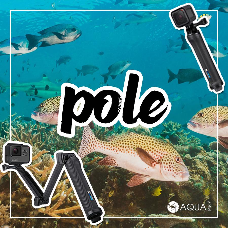 GoPro ถ่ายใต้น้ำ - pole ไม้เซลฟี่