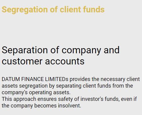 Datum Finance Limited scam broker review news