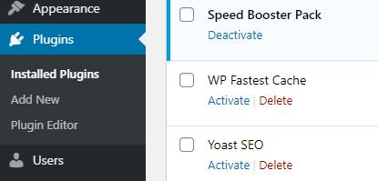 Uninstall and Delete a WordPress Plugin