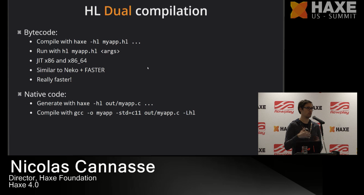 HashLink dual compilation