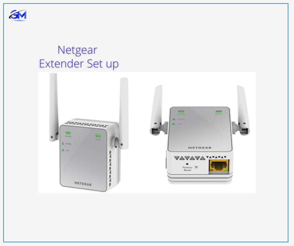 Settng Up Netgear Extender