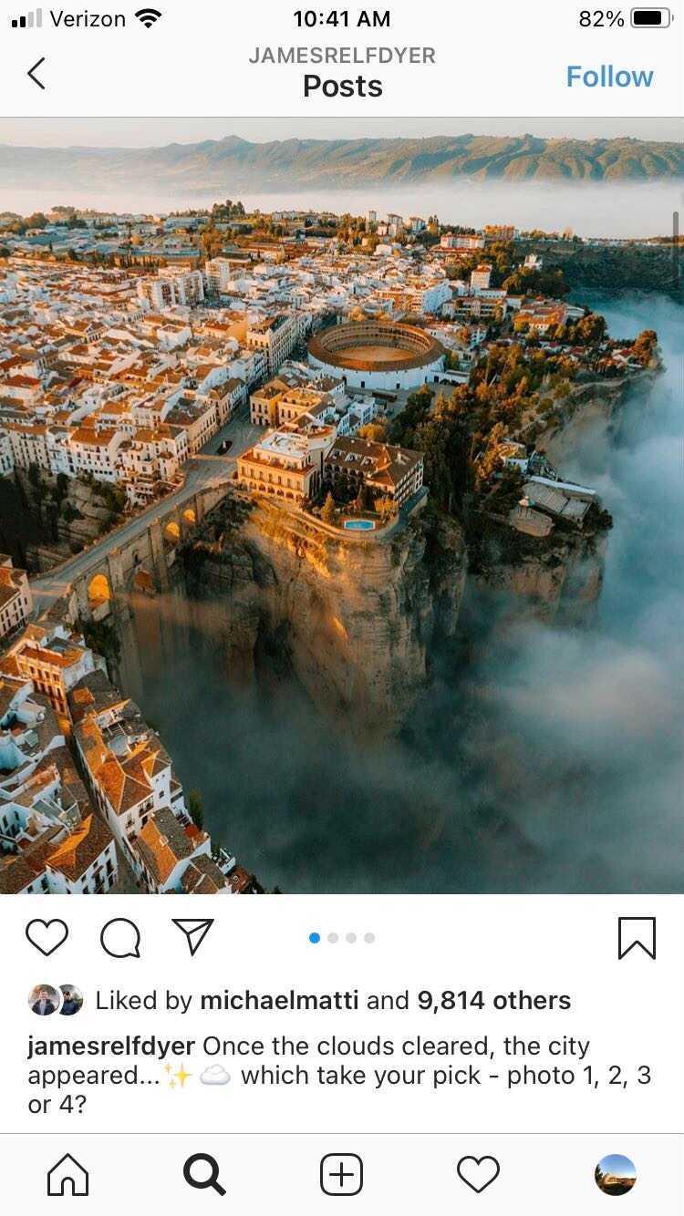travel Instagram jamesrelfdyer