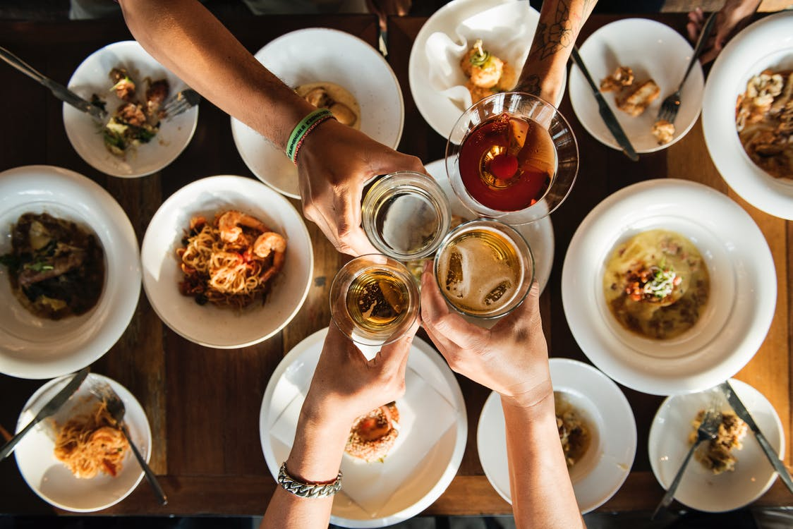 Photo Of A Toast - How To Host The Perfect Night In