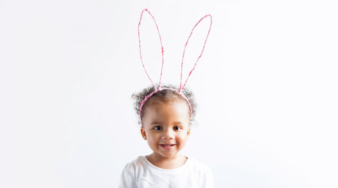 Easter crafts - DIY easter bunny ears