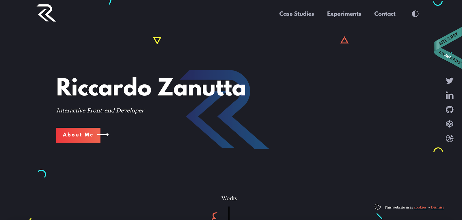 Web Developer Portfolio of Riccardo Zanutta