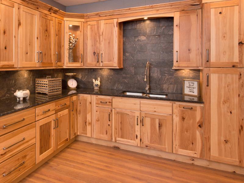 wooden kitchen cabinets carolina hickory