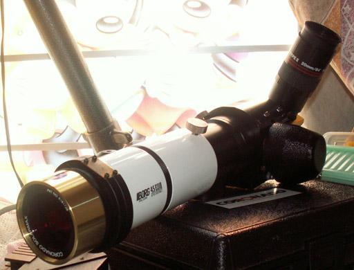A home-use solar telescope