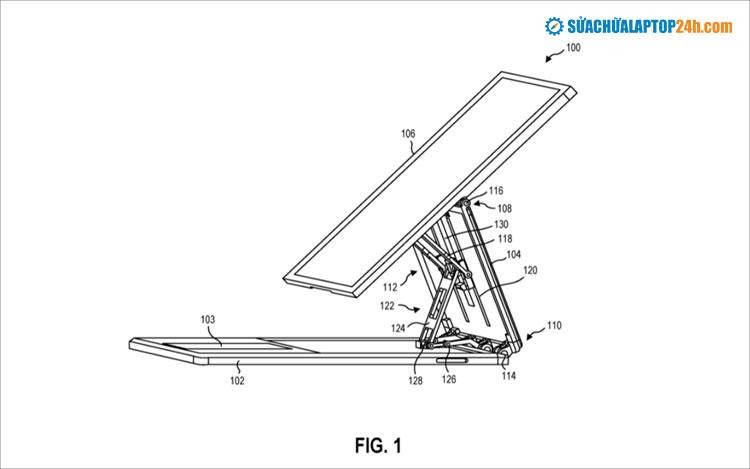 Bản phác họa thiết kế mới của Surface Pro