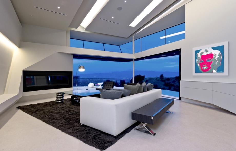 Dosis arquitectura casa futurista en los ngeles for Casas futuristas