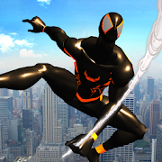 Shadow Rope Hero Power: Amazing Spider Fighter - Best Spiderman Games for Android
