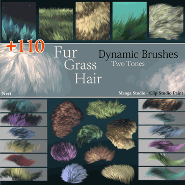 30 Brush Sets for Clip Studio Paint | Free and Premium ...