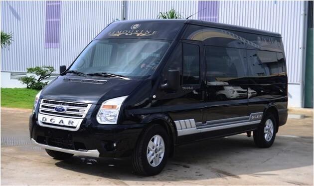 dcar limousine ford transit