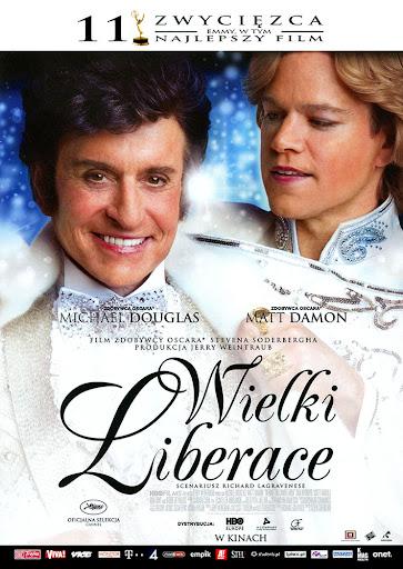 Przód ulotki filmu 'Wielki Liberace'