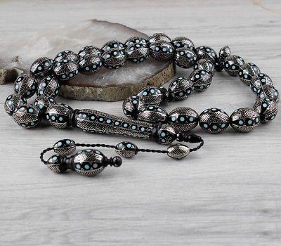 Islamic Prayer Beads, Made of Yussuri Stone tasbih, misbaha 33 ...