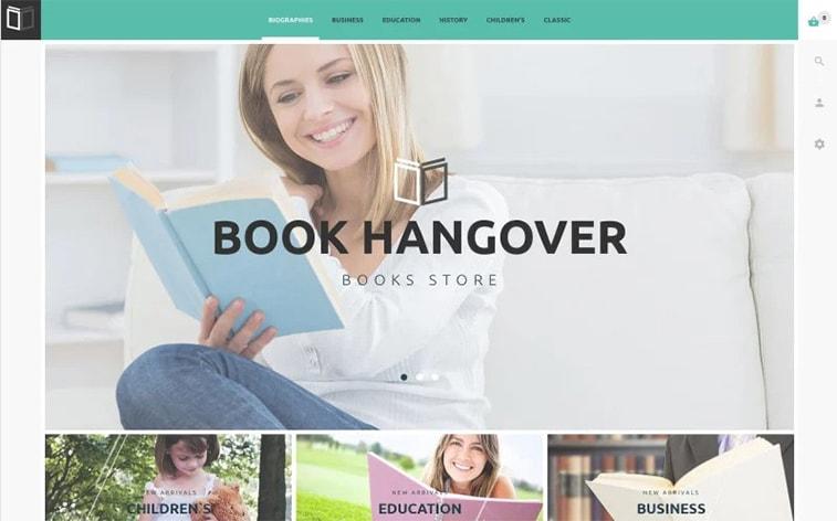 лучший бесплатный шаблон темы ботстрапа сайт красоты книжный клуб библиотека чтения