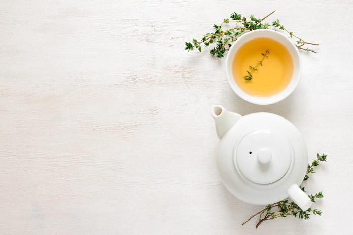 chá para o stress
