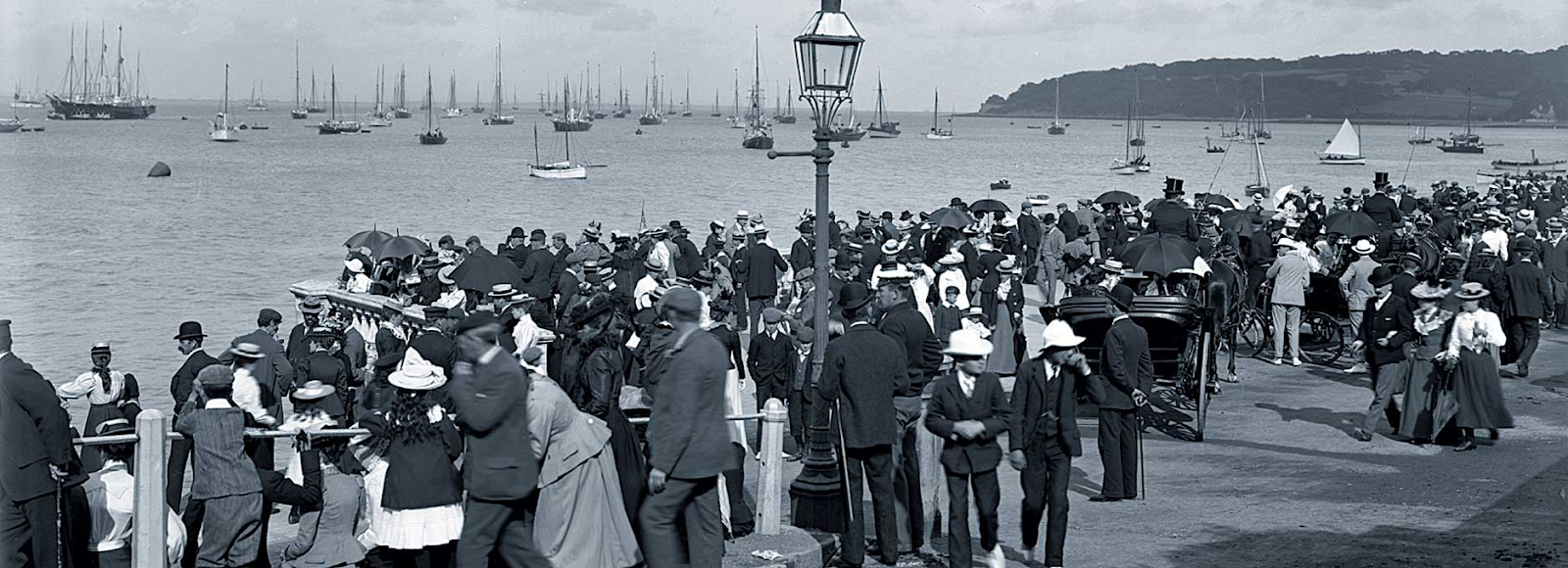 Vintage photo of Cowes