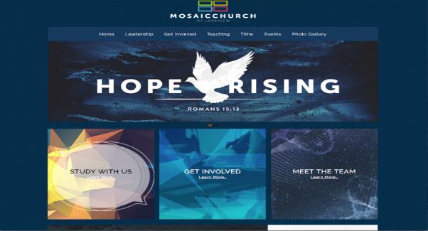 sharefaith church website builder