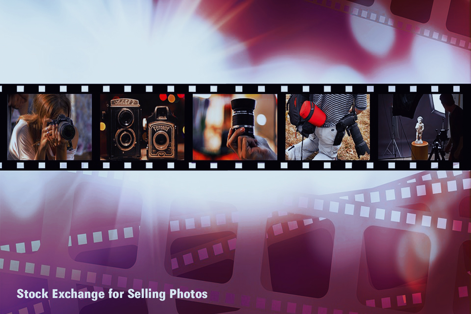 stock exchange for selling photos