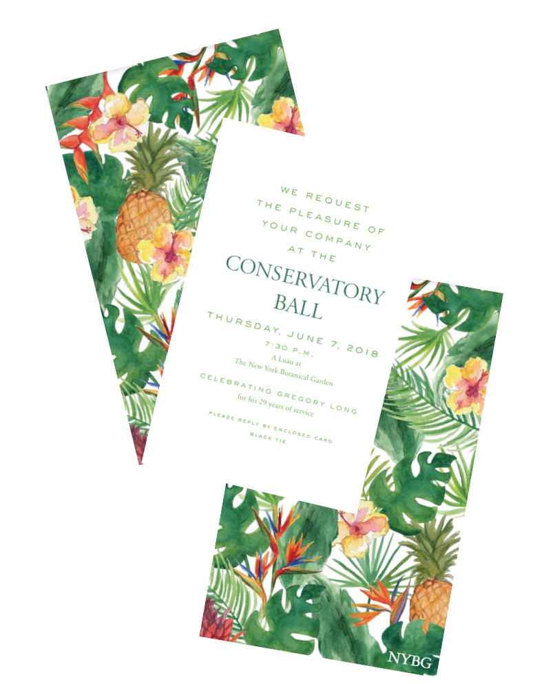 Say ALOHA! to the New York Botanical Garden Conservatory Ball as it celebrates Georgia O'Keeffe:  Visions of Hawai'i  with a fantastic luau themed event.