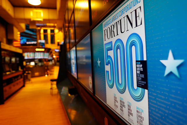 Fortune 500, Flickr