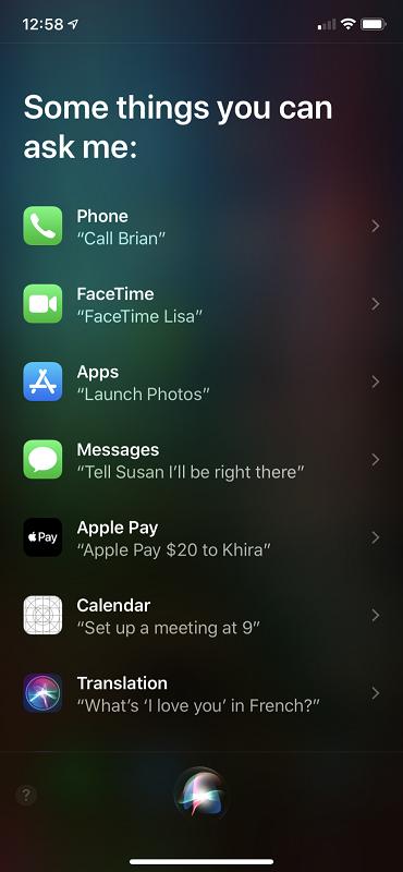 Siri Guide
