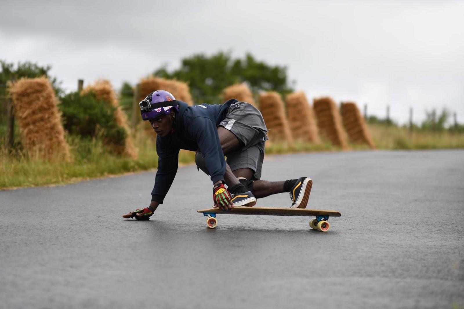 abuga aroni at tregaron freeride riding the sp8boards bullet