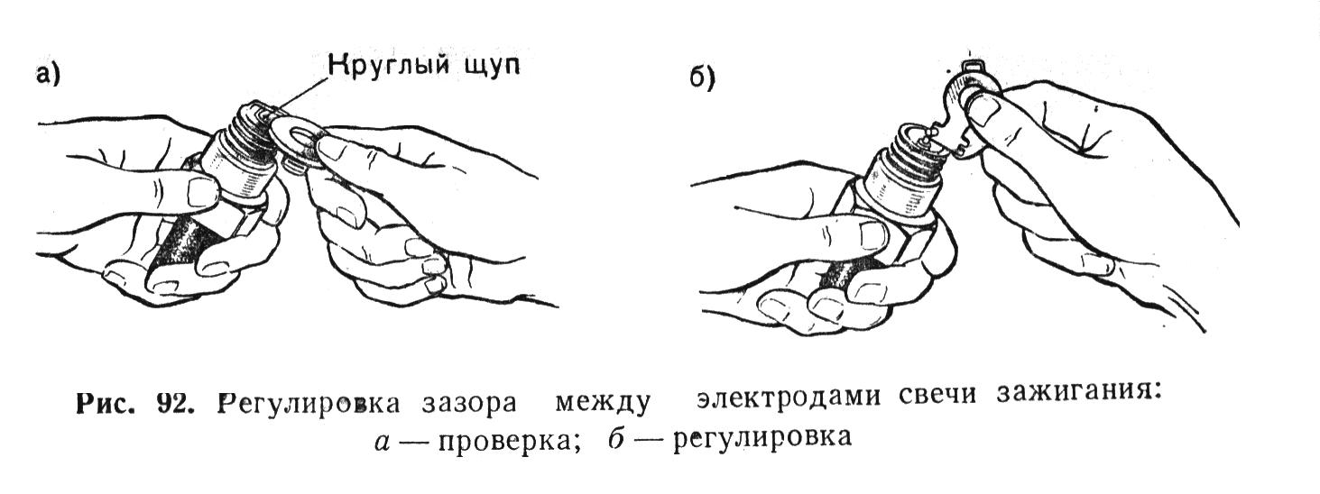 схема затягування головки м 412