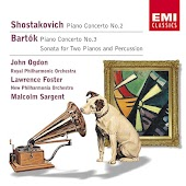 Shostakovich: Piano Concertos/Bartok: Sonata for 2 pianos & percussion
