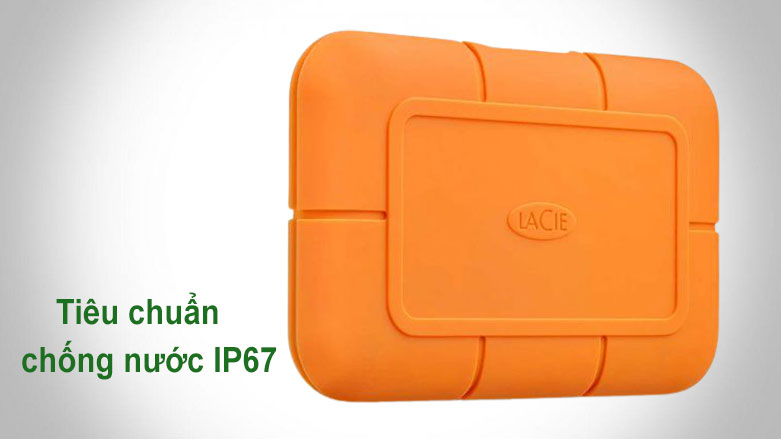 Ổ cứng gắn ngoài SSD LaCie Rugged Thunderbolt 3 2TB USB-C | Chống nước IP67