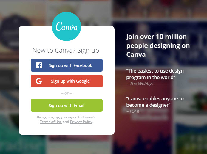 canva.com thiết kế banner online free