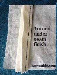 torneado bajo acabado de costura