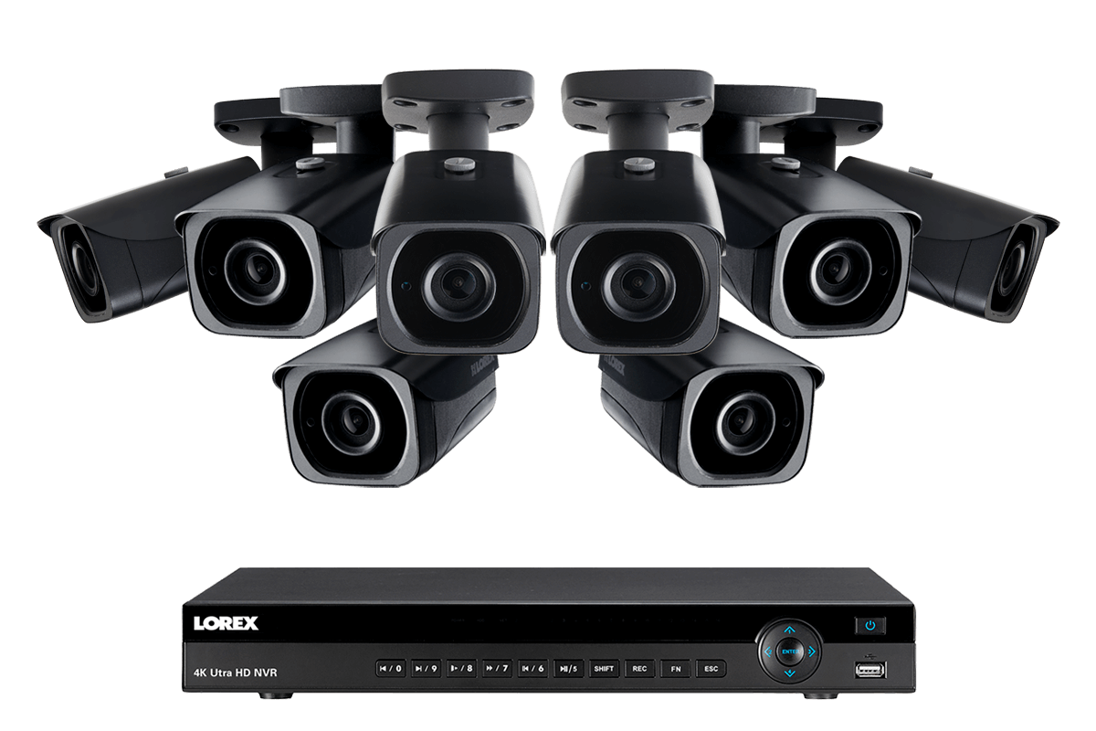 4KHDIP88NB nocturnal 4K security camera system from Lorex