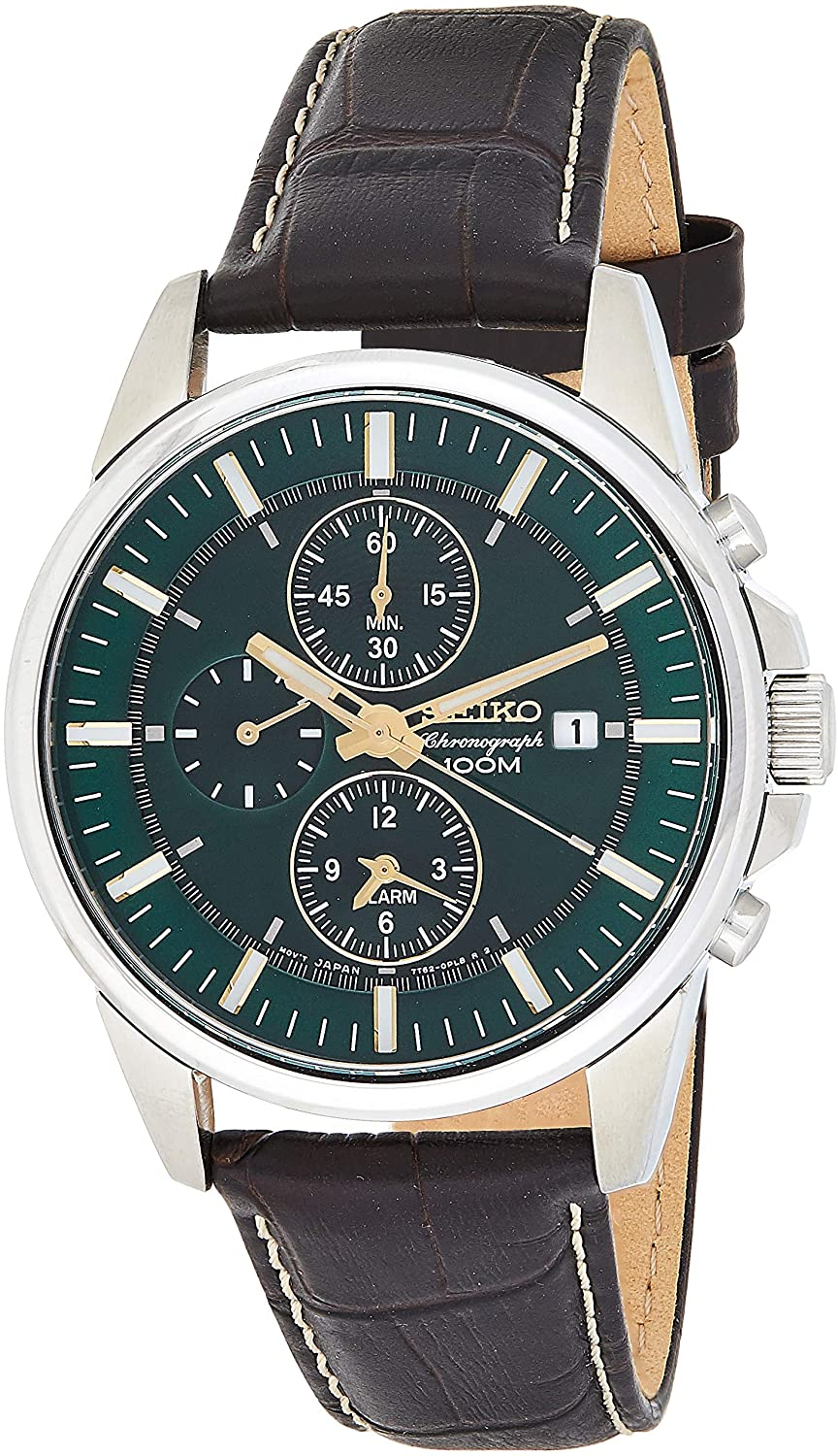 SNAF09 Men's Leather Green Dial