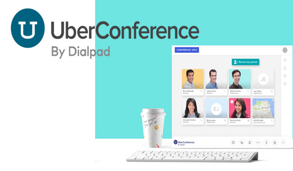UberConference cho phép bạn trò chuyện với khách hàng