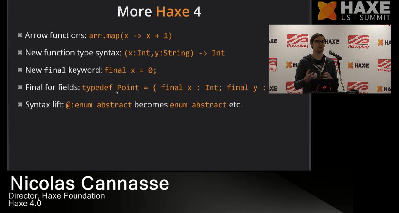 More Haxe 4